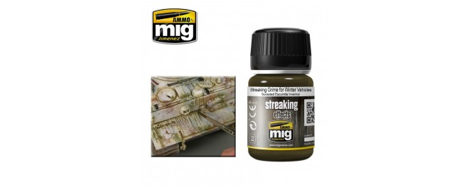 AMMO by Mig A.MIG-1205 Потёки Streaking Grime for Winter Vehicles