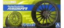 Aoshima 61190 Набор дисков Enkei Racing RS05RR 18""