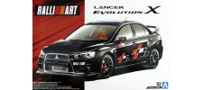 Aoshima 55441 Модель Mitsubishi Lancer Evolution X RalliArt (55441)