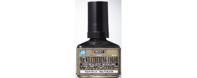 Mr.Weathering Color Black 40 мл.