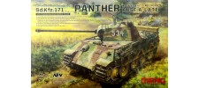 MENG TS-035 Немецкий танк Пантера А/Panther A. Late (TS-035)
