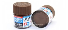 Tamiya LP-17 Нитро краска Linoleum Deck Brown 10 мл.